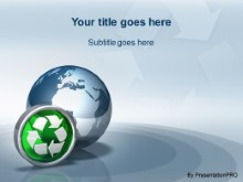 Download globe icon recycle PowerPoint Template and other software plugins for Microsoft PowerPoint