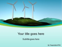 Download wind farm PowerPoint Template and other software plugins for Microsoft PowerPoint