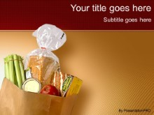 Download grocery bag PowerPoint Template and other software plugins for Microsoft PowerPoint