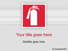 Download extinguisher icon PowerPoint Template and other software plugins for Microsoft PowerPoint