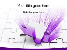 Download piece in place purple PowerPoint Template and other software plugins for Microsoft PowerPoint