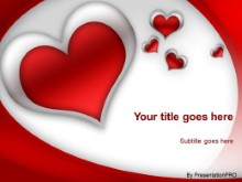 Download red heart PowerPoint Template and other software plugins for Microsoft PowerPoint