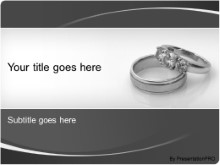 Download wedding rings PowerPoint Template and other software plugins for Microsoft PowerPoint