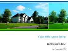 Download residential house PowerPoint Template and other software plugins for Microsoft PowerPoint
