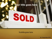 Download sold sign sparkle PowerPoint Template and other software plugins for Microsoft PowerPoint