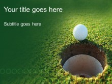 Download hole in one PowerPoint Template and other software plugins for Microsoft PowerPoint