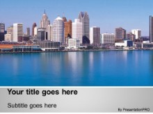 Download detroit PowerPoint Template and other software plugins for Microsoft PowerPoint