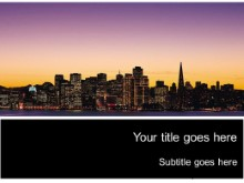 Download sanfran02 PowerPoint Template and other software plugins for Microsoft PowerPoint