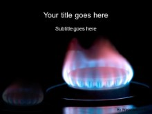 Download natural gas flame PowerPoint Template and other software plugins for Microsoft PowerPoint