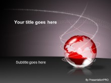 Download bin globe red PowerPoint Template and other software plugins for Microsoft PowerPoint