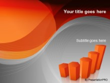 Download graph orange PowerPoint Template and other software plugins for Microsoft PowerPoint