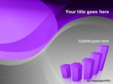 Download graph purple PowerPoint Template and other software plugins for Microsoft PowerPoint