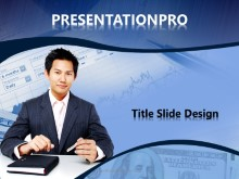 Download asian business man PowerPoint 2007 Template and other software plugins for Microsoft PowerPoint