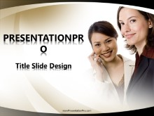 Download women cell talk PowerPoint 2007 Template and other software plugins for Microsoft PowerPoint