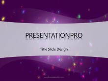 Celebrate PPT PowerPoint Template Background