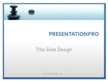 Premium Waterstone PPT PowerPoint Template Background