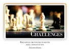 Challenges - Light PPT PowerPoint Motivational Quote Slide