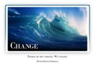Change - Light PPT PowerPoint Motivational Quote Slide