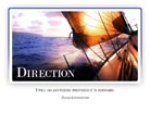 Direction - Light PPT PowerPoint Motivational Quote Slide