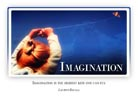 Imagination - Light PPT PowerPoint Motivational Quote Slide