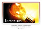 Innovation - Light PPT PowerPoint Motivational Quote Slide