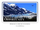 Opportunity - Light PPT PowerPoint Motivational Quote Slide