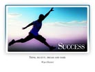 Success - Light PPT PowerPoint Motivational Quote Slide