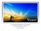 Vision - Light PPT PowerPoint Motivational Quote Slide