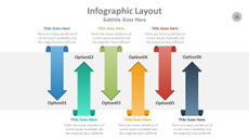 Steps and Stages Presentation PowerPoint Infographic
