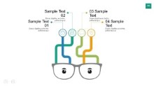 PowerPoint Infographic - Eye Glasses