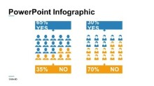 PowerPoint Infographic - People Percentages