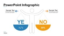 PowerPoint Infographic - Yes No