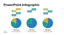 PowerPoint Infographic - Circle Charts