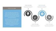 PowerPoint Infographic - Circle Timeline