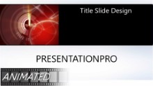 TIME IS MONEY B Widescreen PPT PowerPoint Animated Template Background