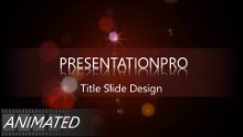 Abstract 0964 Widescreen PPT PowerPoint Animated Template Background