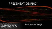 Abstract 0989 Widescreen PPT PowerPoint Animated Template Background