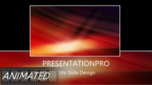 Animated Abstract 0013 A Widescreen PPT PowerPoint Animated Template Background