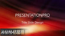 Animated Abstract 0013 B Widescreen PPT PowerPoint Animated Template Background