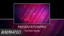 Animated Abstract 0015 A Widescreen PPT PowerPoint Animated Template Background