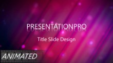 Animated Abstract 0015 B Widescreen PPT PowerPoint Animated Template Background
