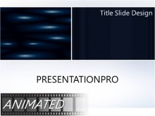Animated Abstract 0365 Widescreen PPT PowerPoint Animated Template Background