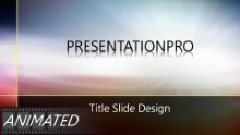Animated Abstract 0525 Widescreen PPT PowerPoint Animated Template Background