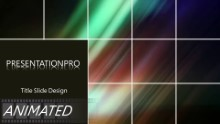 Animated Abstract 0550 Widescreen PPT PowerPoint Animated Template Background