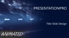 Animated Aerospace 0013 Widescreen PPT PowerPoint Animated Template Background