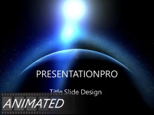 Animated Global 0009 Widescreen PPT PowerPoint Animated Template Background