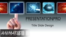 Animated Global Selection Widescreen PPT PowerPoint Animated Template Background