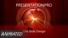Animated Widescreen Global 0005 PPT PowerPoint Animated Template Background