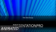 Abstract Blades Widescreen PPT PowerPoint Animated Template Background