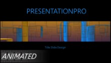 Abstract Cubes Widescreen PPT PowerPoint Animated Template Background